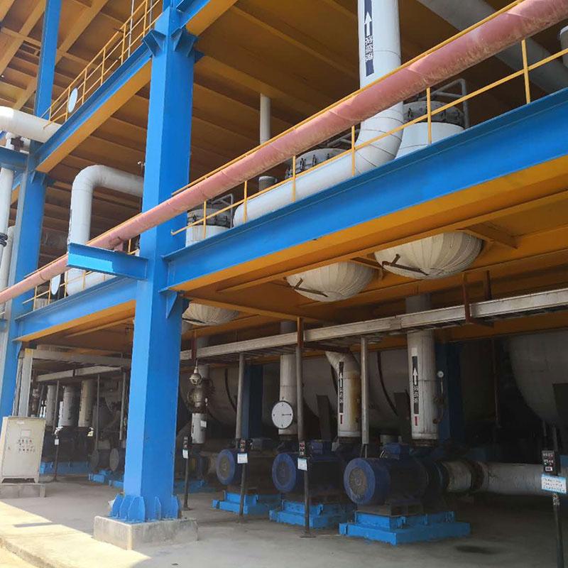 镇江电厂反渗透阻垢剂使用现场