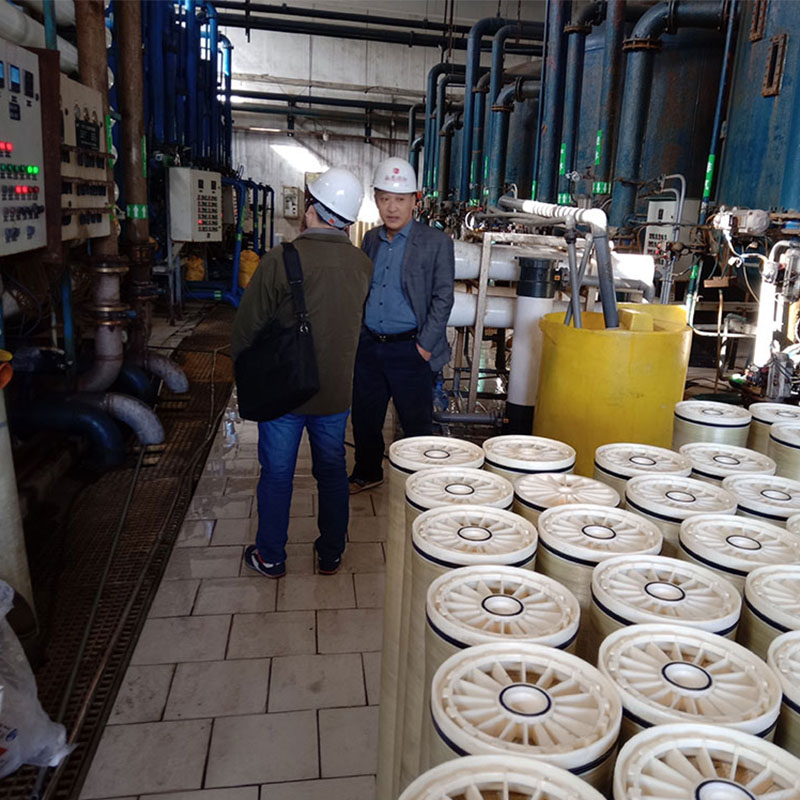 河北电厂缓蚀阻垢剂使用现场