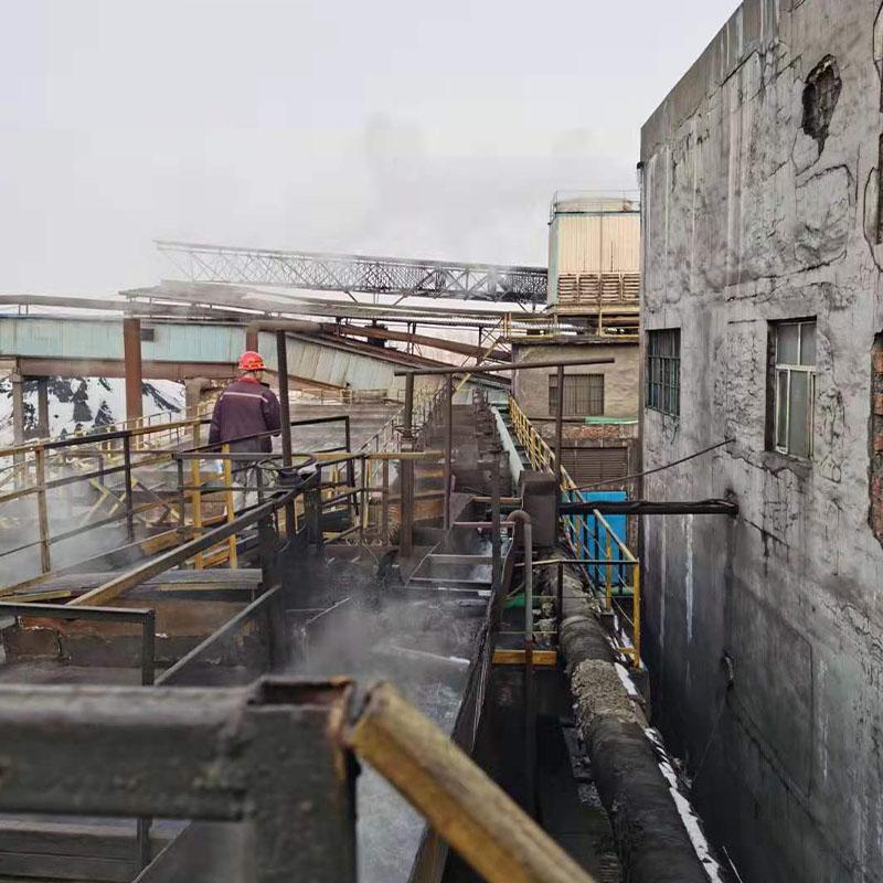 黑龙江某化工厂现场服务